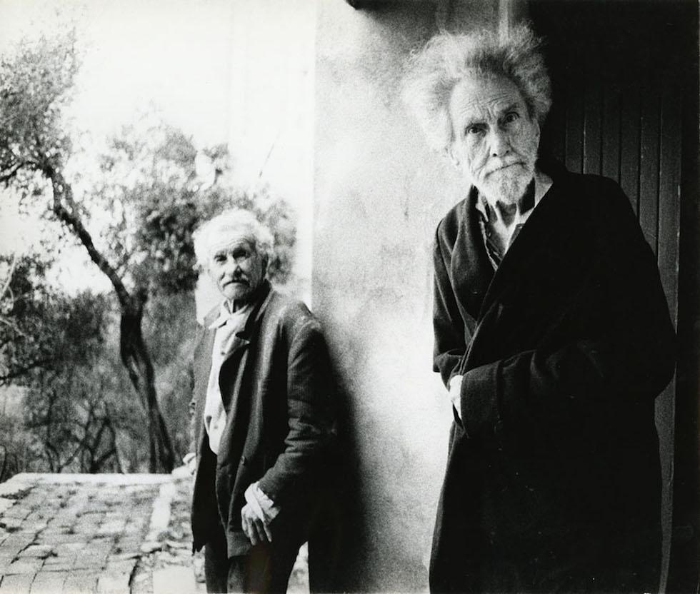 Ezra Pound, 1966 © Lisetta Carmi, Courtesy Martini & Ronchetti