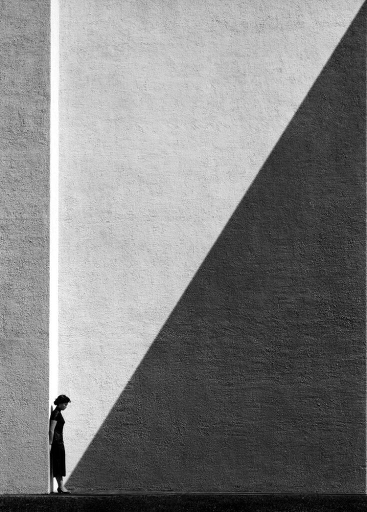 Fan Ho Approaching Shadow, 1954
