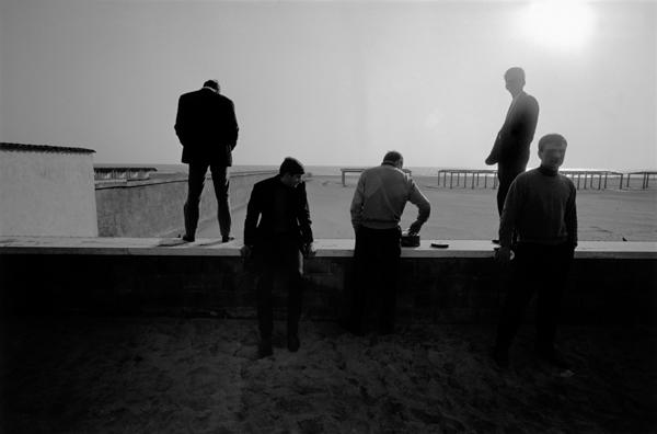 Bruno Barbey, ITALY. Rome. 1964.Ostia beach.