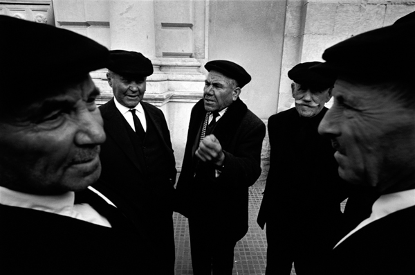 Bruno Barbey, ITALY. Sicily region. Town of Trapani. 1964.