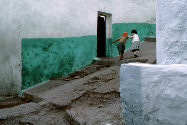 Bruno Barbey, MOROCCO. Town of Tangiers. 1985.