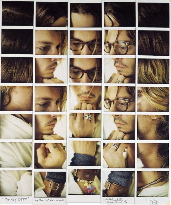 Maurizio Galimberti - Johnny Depp, 2003