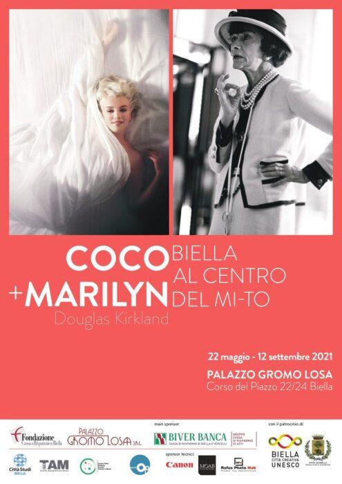 Coco + Marylin, Douglas Kirkland - Palazzo Gromo Losa