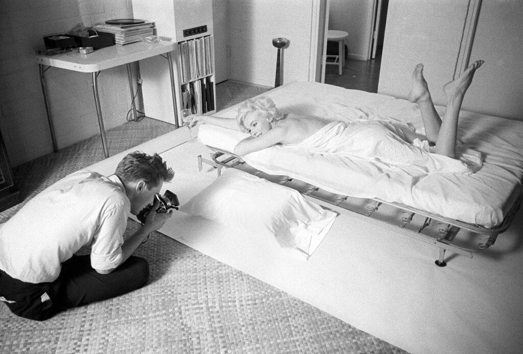 Marilyn with Douglas Kirkland