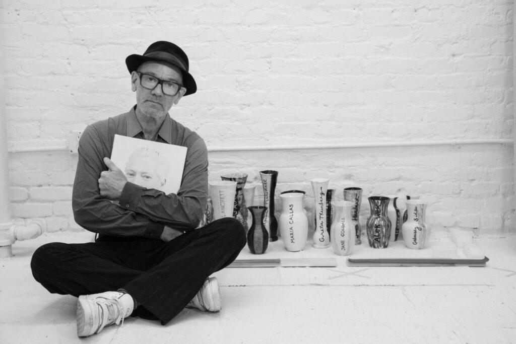 Michael Stipe, by David Belisle